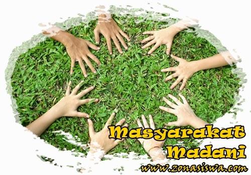 Masyarakat Madani | www.zonasiswa.com