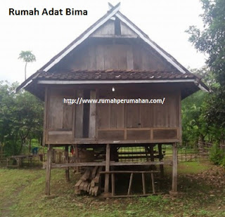 Desain Bentuk Rumah Adat Bima dan Penjelasannya, Rumah Tradisional, mbojo, Uma haju