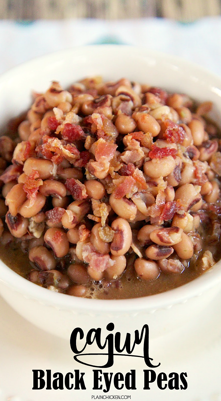 Black eyed pea and chicken recipe