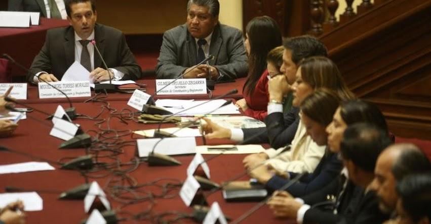 Congreso convoca al presidente del Consejo de Ministros para explicar ley que impide a empresas investigadas sacar recursos