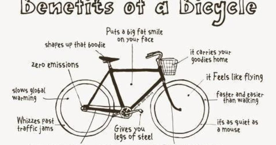 Love the Fold: Benefits of a Bicycle!