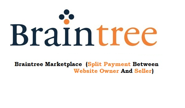 Braintree Marketplace - Split payment between website owner and seller