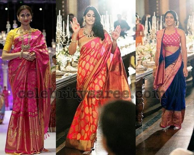 Shilpa Reddy Regina Silk Sarees