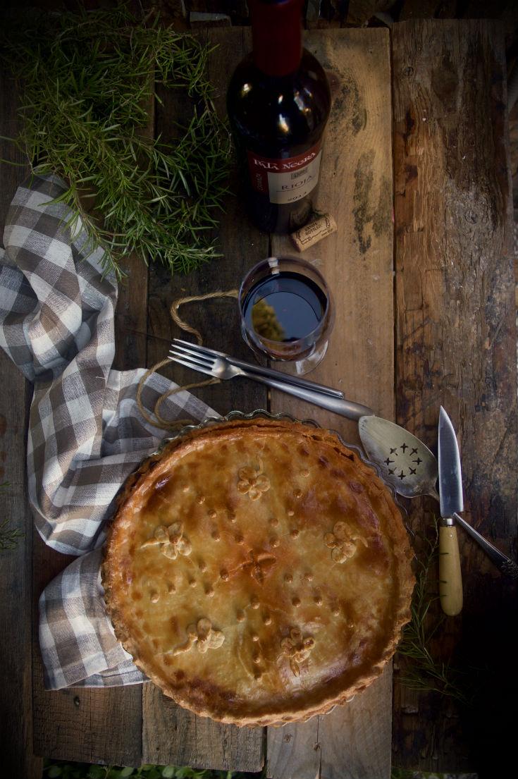 Empanada fácil de pavo