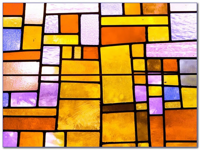 stained glass window covering self adhesive vinyl film sticky back