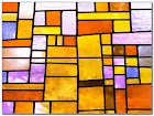 Self Adhesive Stained GLASS WINDOW Film