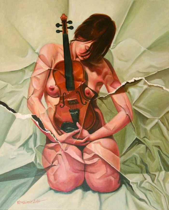 Абстрактно-реалистичные картины. Krassimir Kolev 11