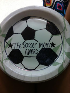 Paper Plate Award Ideas