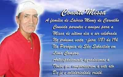 CONVITE MISSA