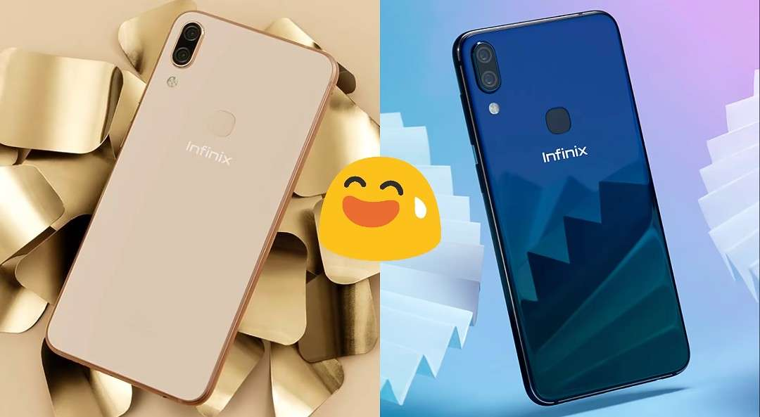 The Infinix Zero 6 smart phone