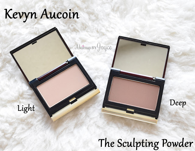 Kevyn Aucoin The Sculpting Powder Light Deep Review Swatch