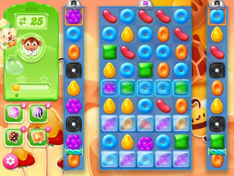 Candy Crush Jelly Saga 524
