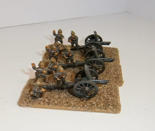 Painting German Artillery picture 2