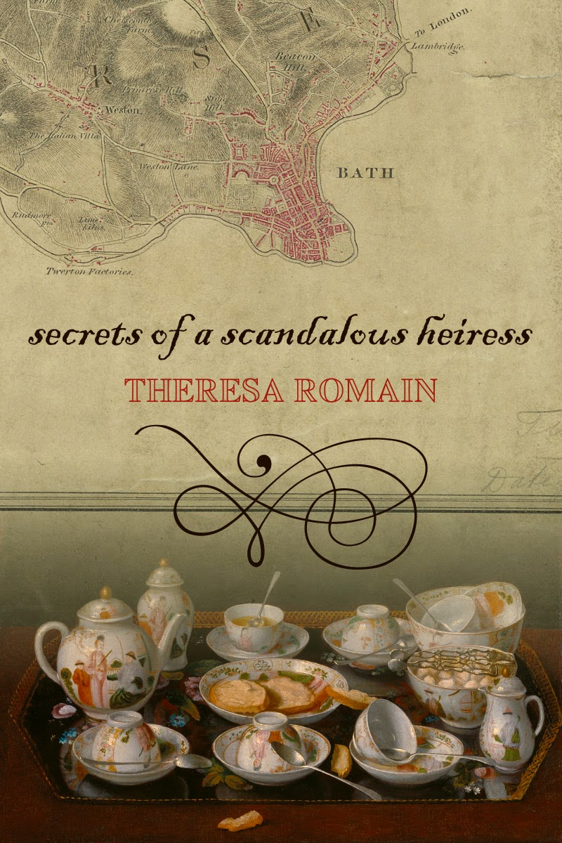 Theresa Romain's Secrets of a Scandalous Heiress