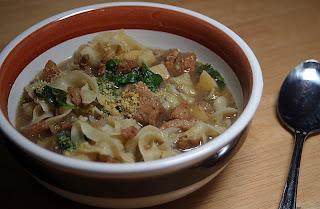 Vegan Chicken Noodle Soup 12