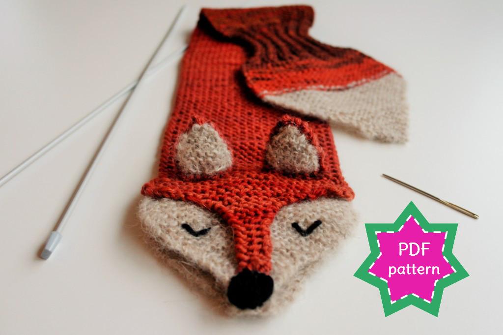 Fantastic Fox knitting pattern & kit - finally available