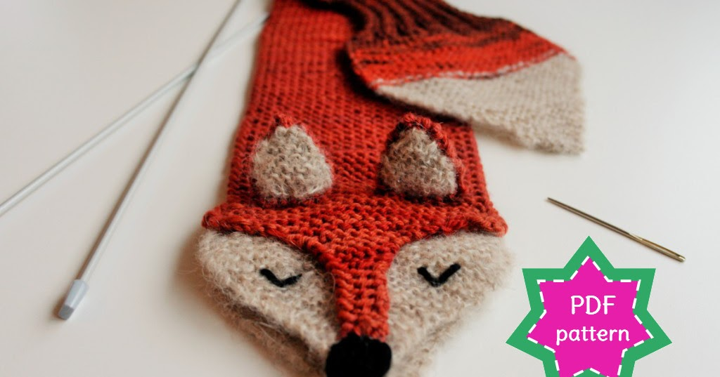 Boot Leg Warmers Knitting Pattern : stitchES crochet : Fantastic Fox knitting pattern & kit - finally available