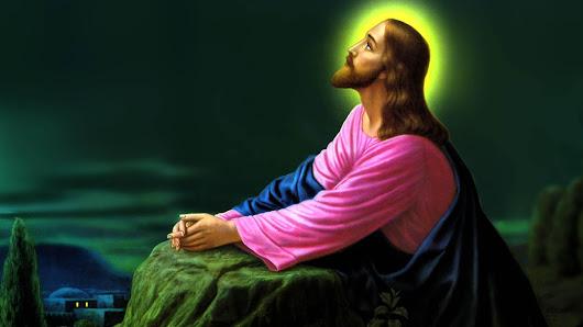 download besplatne pozadine za desktop 1920x1080 HDTV 1080p slike ecard čestitke Uskrs Isus Krist Getsemanski vrt molitva