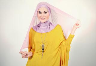 cara berhijab segi empat - hijab paris