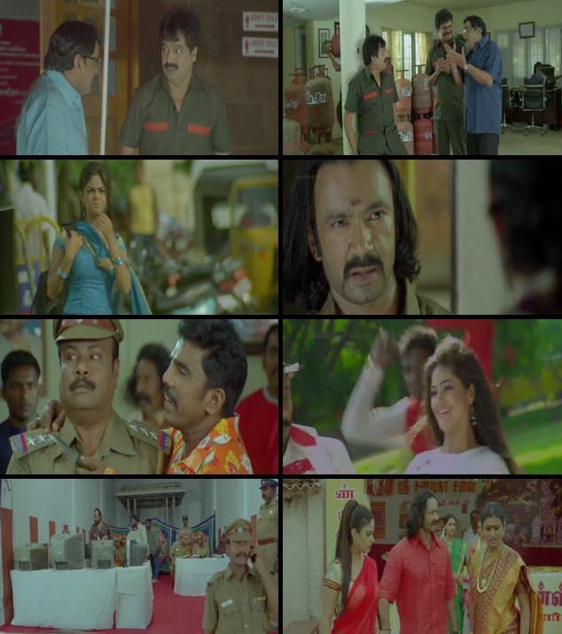 Killadi 2015 Dual Audio Hindi 720p HDRip