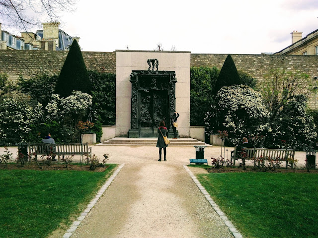 This is a photo that was shot by @rotanarotana in the garden of the Museum Rodin, Paris, France.