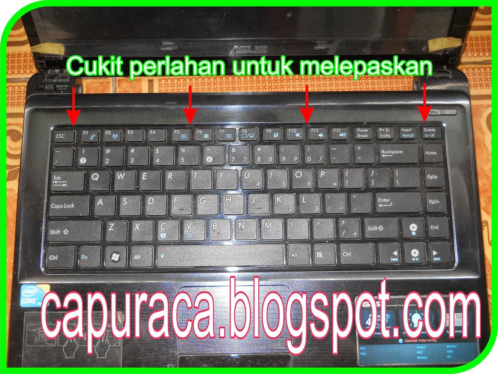 Cara Mengganti Keyboard Laptop - Infoin Aja