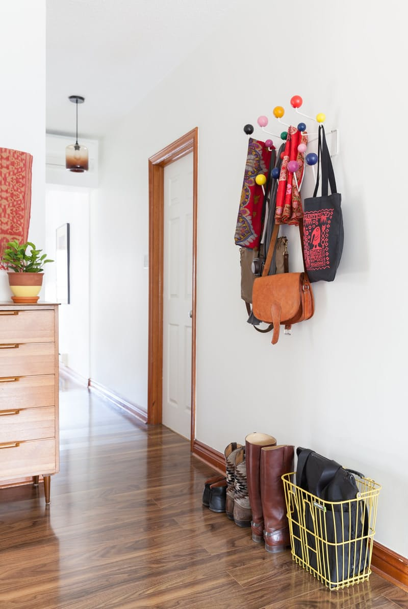 Art & Mañas » Un marco de madera sobre blanco