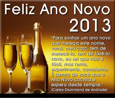 CARTÕES DE ANO NOVO 2013 ~ imagens para celular