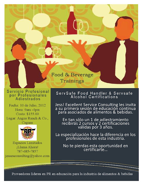 Serv Safe Food Handler Review Sheets