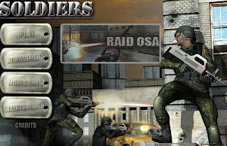 لعبة جنود المهمات القتاليه اون لاين Soldiers RTS online