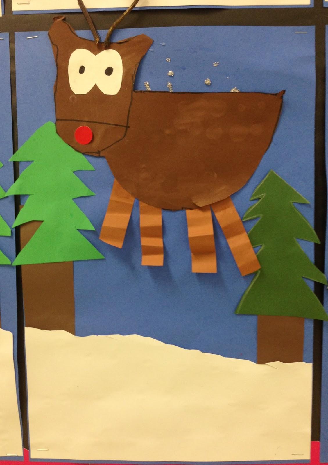Apex Elementary Art Oh Deer