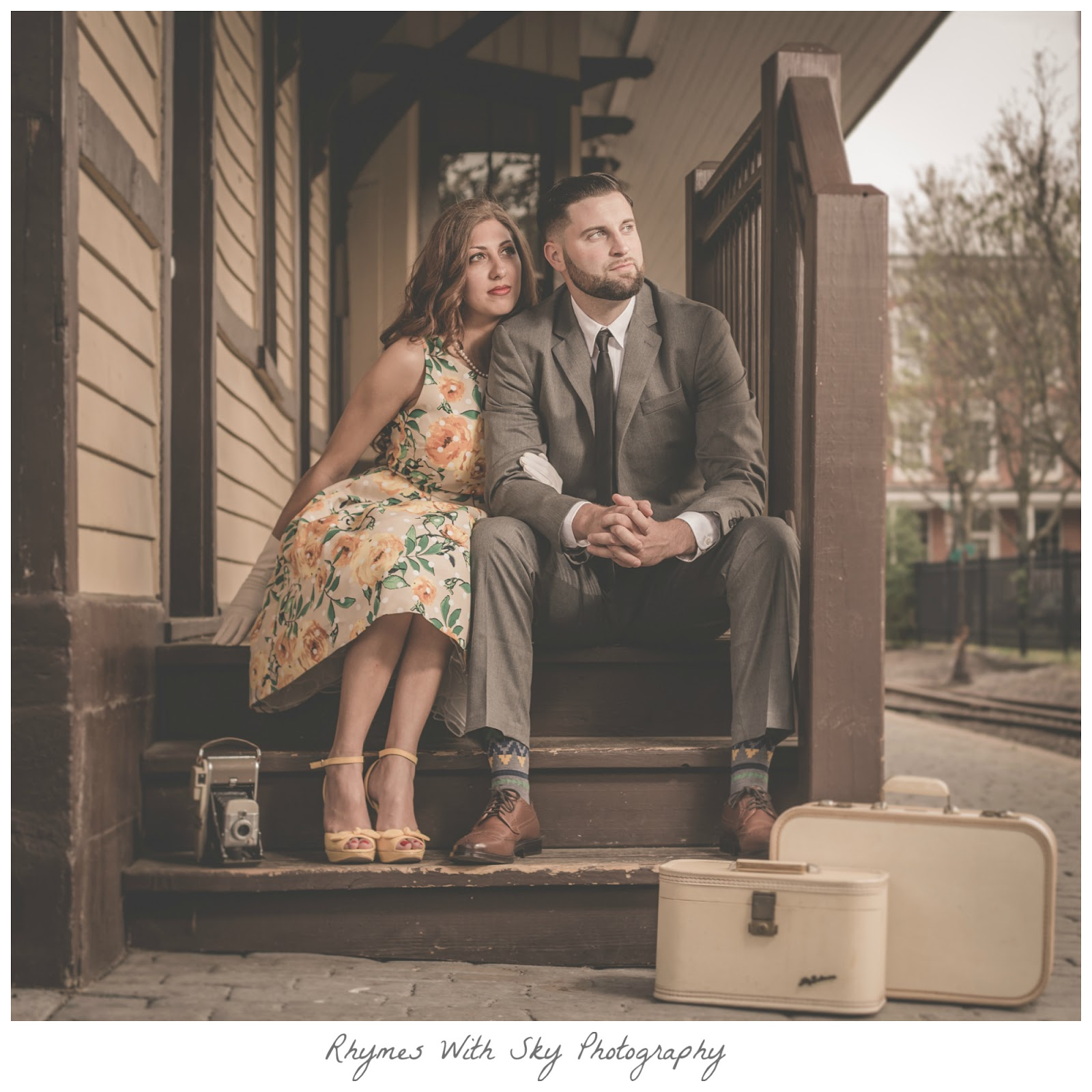 Beyond Absolutely Nailing The Wardrobe They Stunned In Front Of Camera Youll Be Seeing More These Two On Blog For Their Wedding Spring