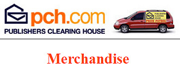 Online Shopping at PCH Merchandise