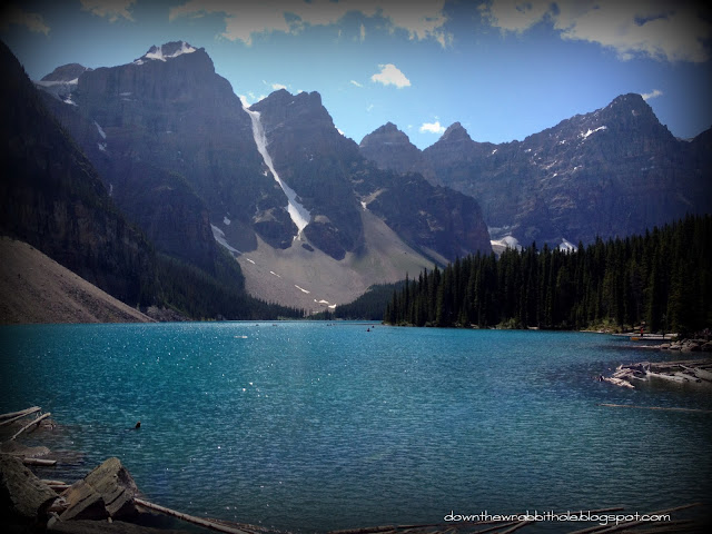 20 dollar bill view, Banff National Park, Valley of the Ten Peaks