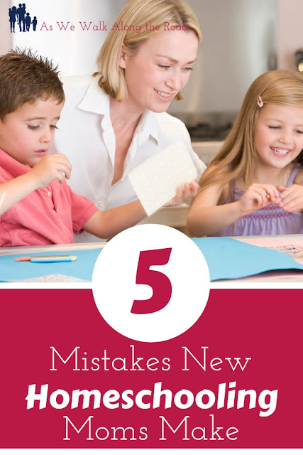 Mistakes New Homeschool Moms Make