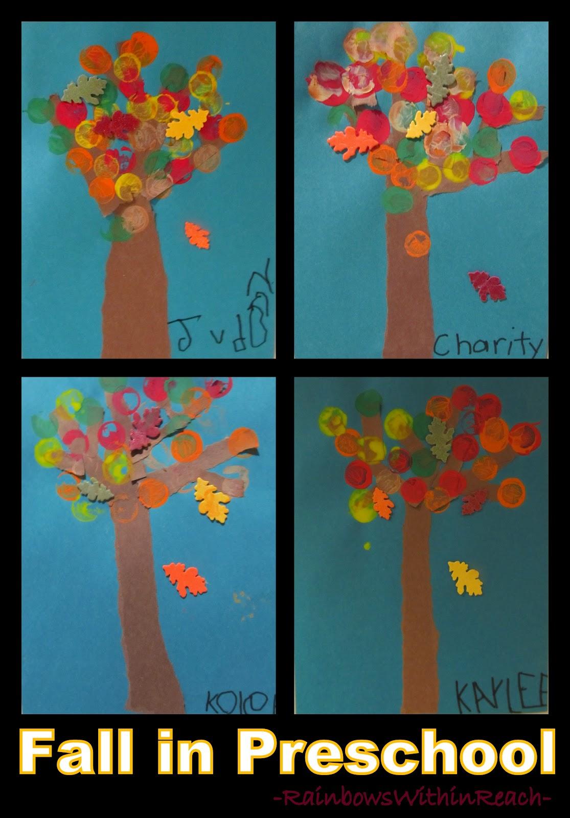 Fall Leaf Art Project In Preschool Drseussprojects