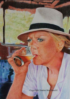 Colored Pencil by Denise MacDonald