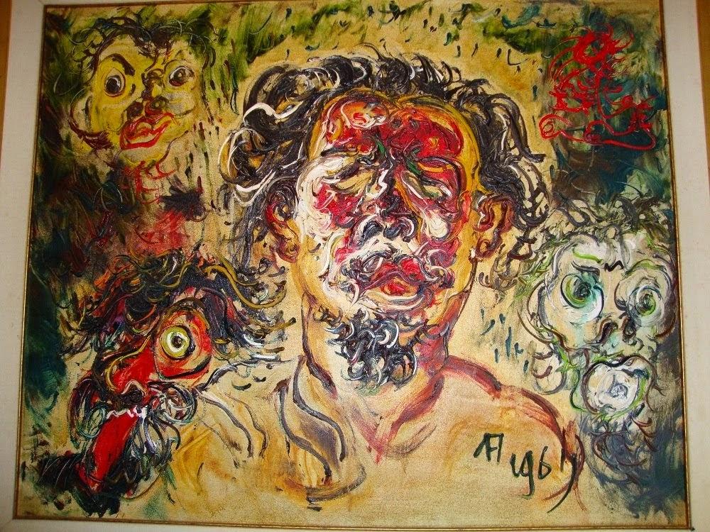 kritik seni : lukisan affandi.