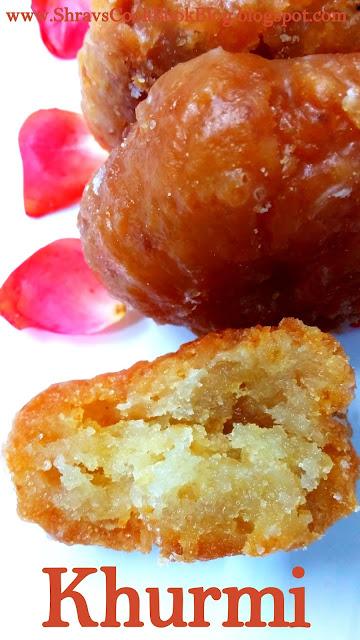 Khurmi - Balushahi recipe