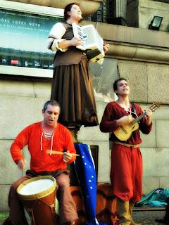 Grupo de Teatro de Rua Oigalê - Fim da Peça Negrinho do Pastoreio