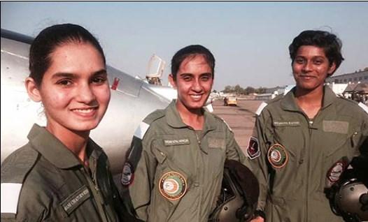 Pilot Wanita Pertama India Siap Terbangkan Pesawat Tempur