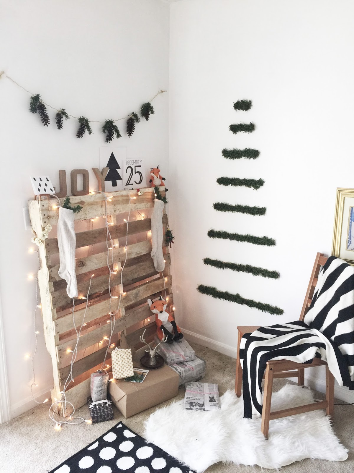 Our Upcycled Christmas