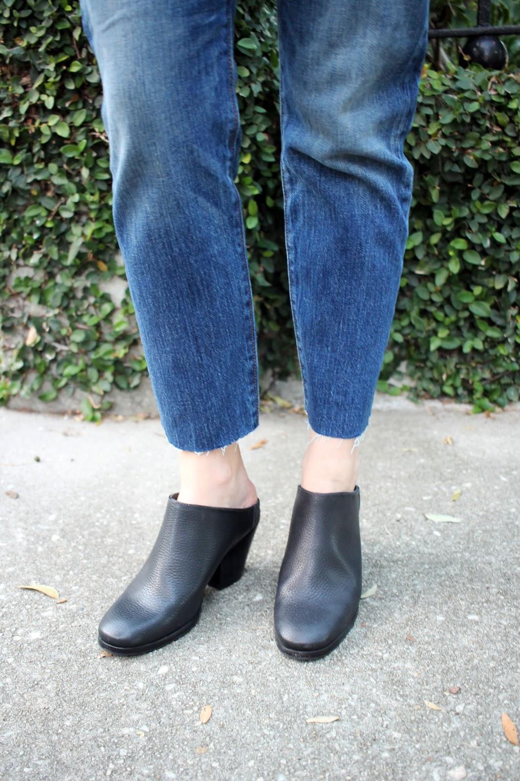 Levi Wedgie Jeans + Rachel Comey Mars Mule