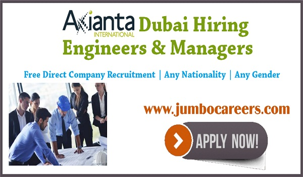 Direct free recruitment jobs in Dubai, Dubai jobs for Indians,