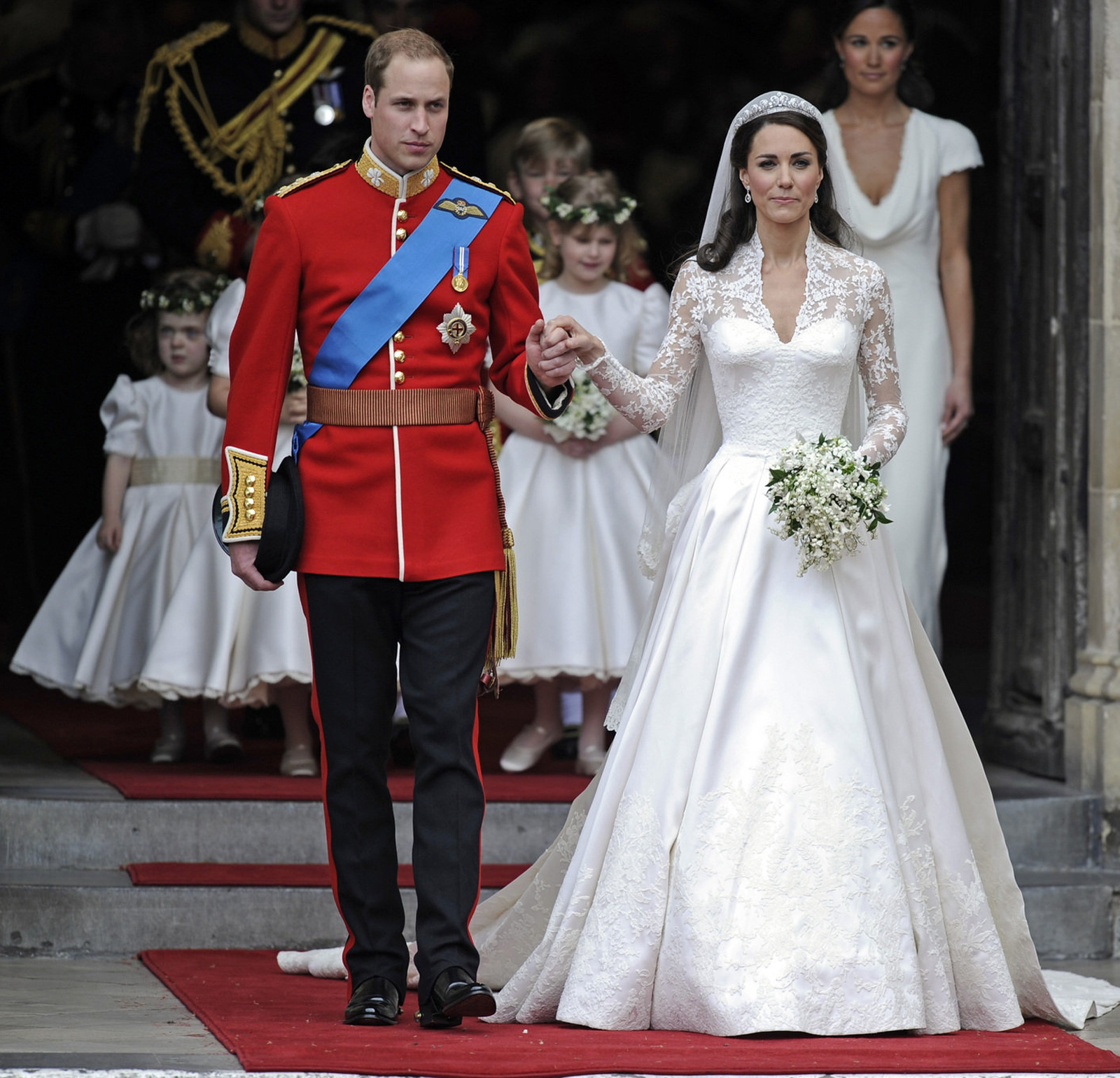 William And Kate Wedding Anniversary: I Was Here.: Kate Middleton