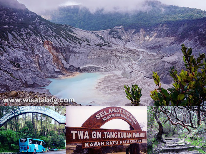 Wisata Gunung Tangkuban Parahu Bandung Jawa Barat