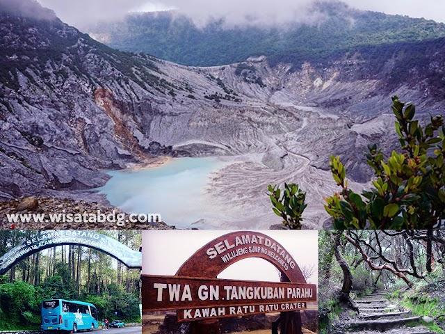Info Rute, Harga Tiket Terbaru, Jalur Angkutan Umum, dan Nomor Kontak Wisata Gunung Tangkuban Parahu