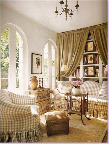 French Country Decor Living Room - Native Home Garden Design