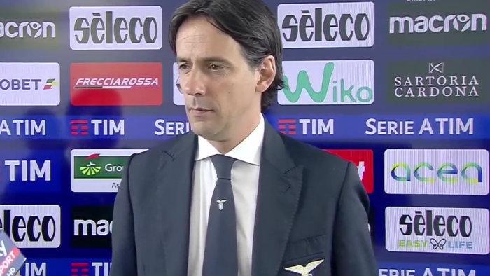 LAZIO ROMA 0-0 INTERVISTA A SIMONE INZAGHI