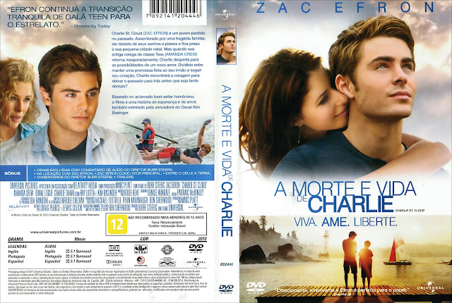 Capa DVD A Morte e Vida de Charlie